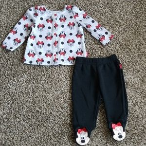 Disney Matching Sets - Disney Baby Minnie Mouse Outfit